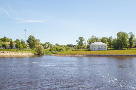 volga: The confluence of the Selivanovsky brook in the Volga in Uglich