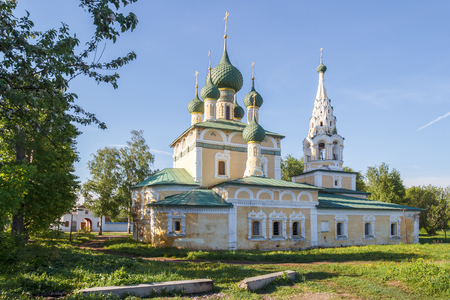 Church of the Nativity of John the Baptist in Uglich Stock Photo