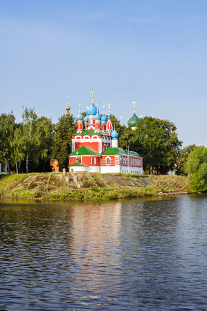Church of Tsarevich Dmitry on the Blood in Uglich Stock Photo