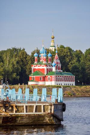 Church of Dimitry Tsarevich on the Blood in Uglich, Yaroslavl Region