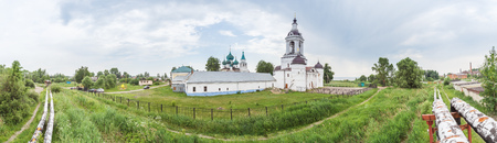 The Avraamievsky Epiphany Monastery in Rostov the Great, Yaroslavl Region