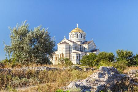 Tauric Chersonesos in Sevastopol Stock Photo