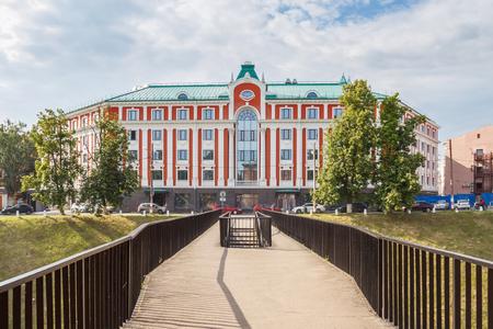 Ponticello ed hotel in NiÅhnnij Novgorod ad estate, Russia