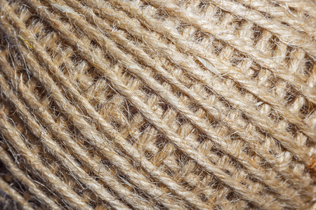 Clew of coarse Rope, background Фото со стока