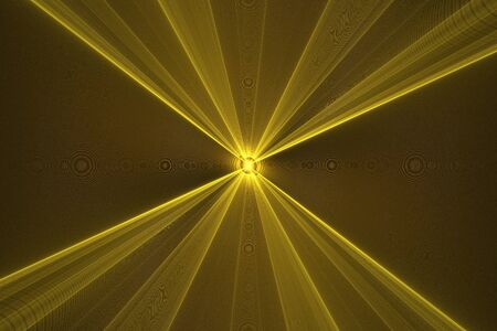 Light source, ray crossing, fractal