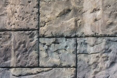 Texture of gray stone slabs Stock Photo