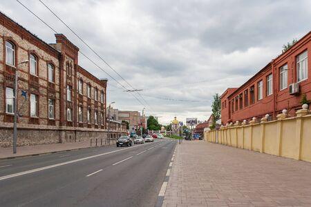 Samara city, Samara region/Russia - may 20 2019: Volzhsky Avenue Редакционное