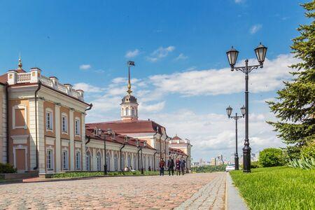 Kazan city, Republic of Tatarstan/Russia - may 23 2019: Cannon Museum in the Kazan Kremlin