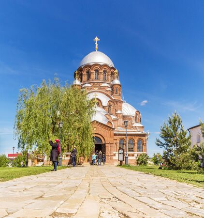 Cathedral in the name of the Icon of the Mother of God of All Who Mourn Joy in Sviyazhsk, Tatarstan
