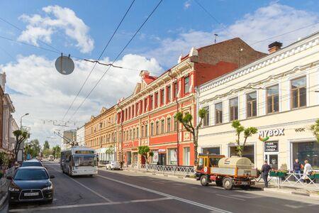 Samara city, Samara region/Russia - may 21 2019: Kuibyshev street on a sunny day