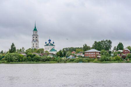 Smolensk church in the village of Dievo-Gorodishche on the banks of the Volga