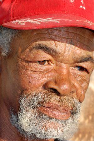 Senior African man