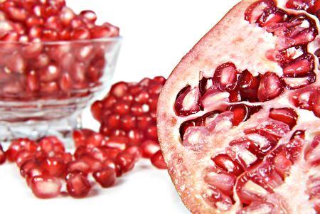 pips: Granaatappel fruit en pitten