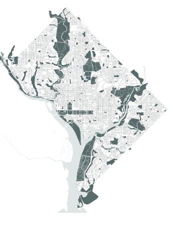 Washington Dc Map Images Stock Pictures Royalty Free Washington