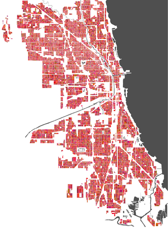 510 Chicago Map Stock Illustrations Cliparts And Royalty Free