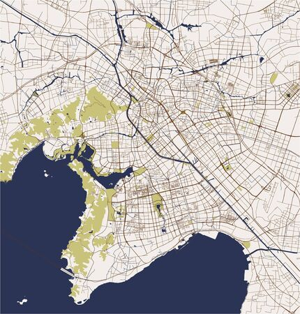 map of the city of Wuxi, China