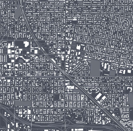 map of the city of Richmond, USA