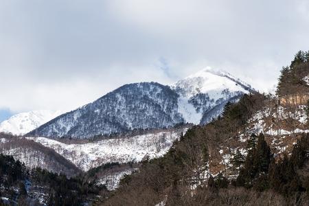 hakusan: Winter mountain, Shirakawa-go, Japan