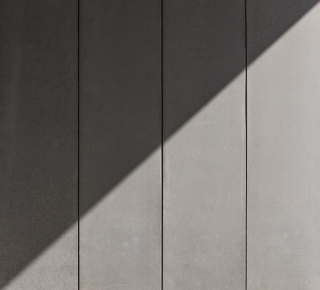 diagonal shade on the perforated wall