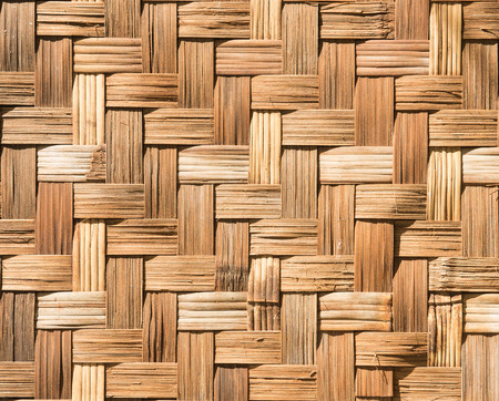bamboo wall texture background, back side bamboo fence in Myanmar