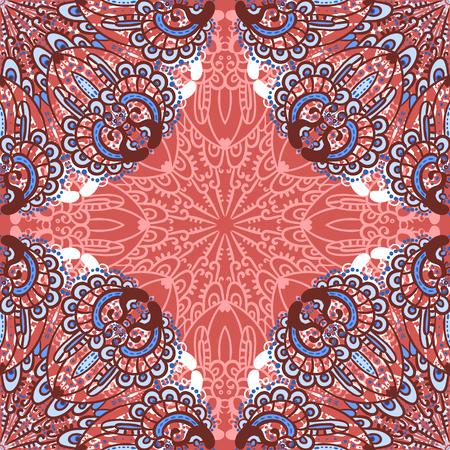 オリエンタル スタイルでシームレスな壁紙ベクトル アラベスク