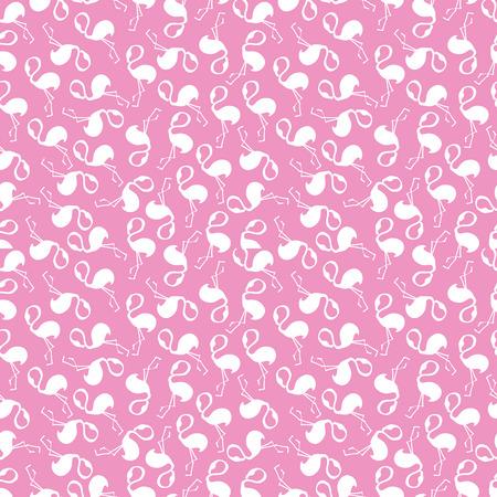 flamingi: pattern, seamless wallpaper with pink flamingos