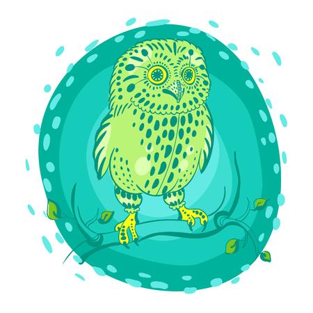 lasercutting: print with the sleeping owl print t-shirt, clothing