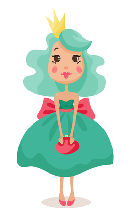 american stories: beautiful princesses in elegant dresses