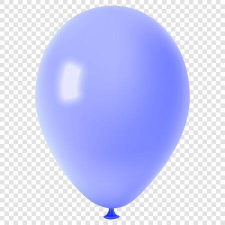 Realistic colorful balloon.