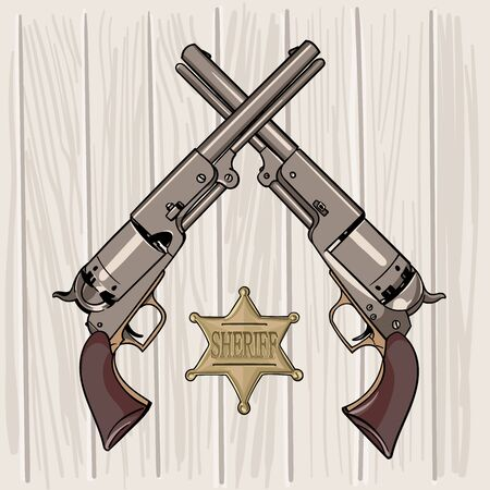 Colt Model 1848 Dragoon. Two Revolvers