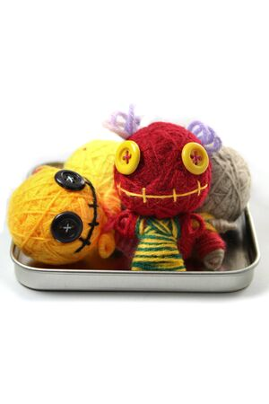 Colorful Voodoo Doll