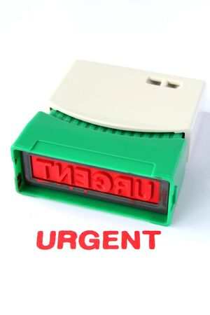 business urgent stamper Stock Photo - 16467695