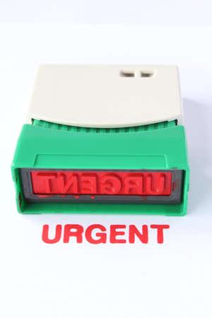 business urgent stamper Stock Photo - 16467697