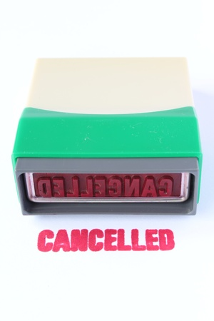 business cancelled stamper Stock Photo - 16467694