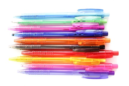 colorful pens for student and children Stock Photo - 16504804