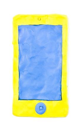 empty smartphone display Stock Photo - 16809104