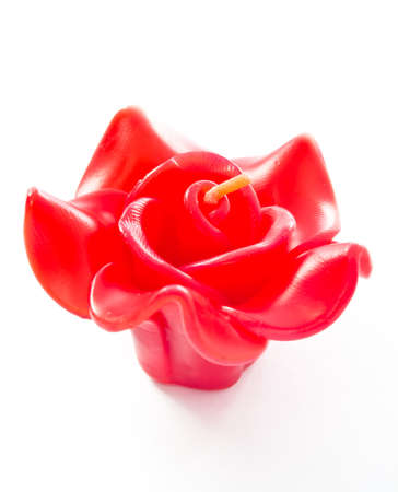 Art flower candle