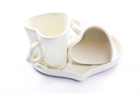 love cups for valentines day  photo