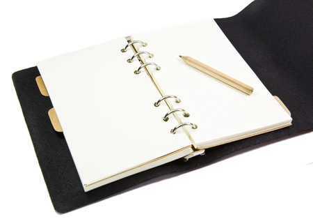 close up of a notebook paper Stock Photo - 19289757
