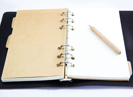 close up of a notebook Stock Photo - 19289760