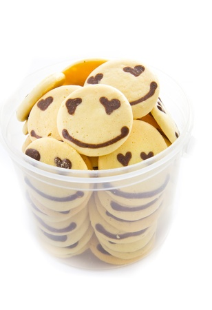 smile cookie homemade
