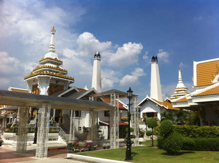 Thailand Buddhist worship to burn death body
