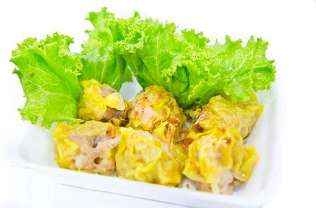 take away: Take away box dim sum, traditional Chinese