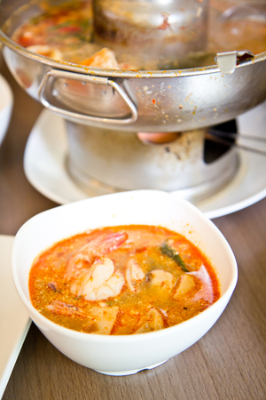 sour grass: Tom Yum Kung, Thai spicy soup