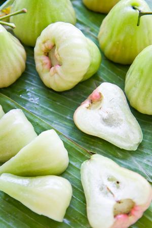 green rose apple, Thai fruit