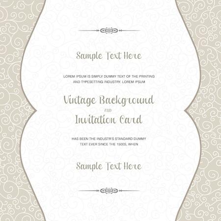 invitaci�n matrimonio: Boda tarjeta de invitaci�n. Perfecto como invitaci�n o anuncio. Vectores