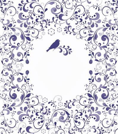 Mooie bloemen romantisch voor wenskaart illustratie achtergrond Stockfoto - 12495214