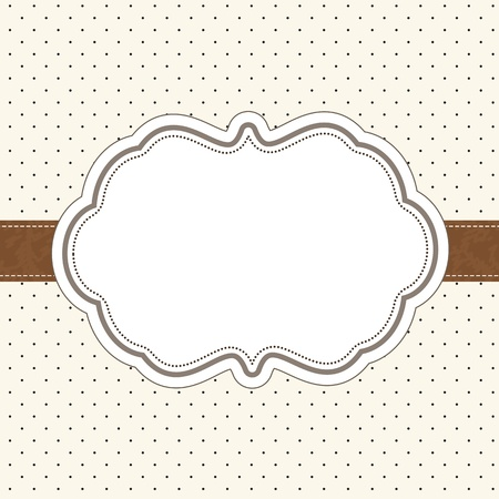 greeting card invitation wallpaper: Retro invitation card
