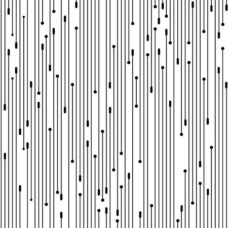 우아한 간단한 원활한 벽지 패턴