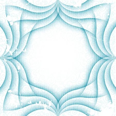 Ornament vintage kaart ontwerp